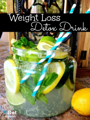 Bebida Detox de Perda de Peso