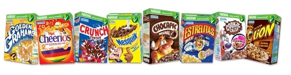 Cereais Integrais Nestlé