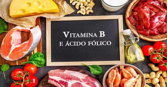 Vitamina B e ácido fólico