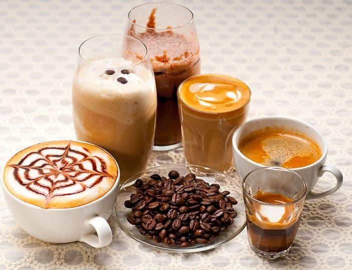 Bebidas com Café