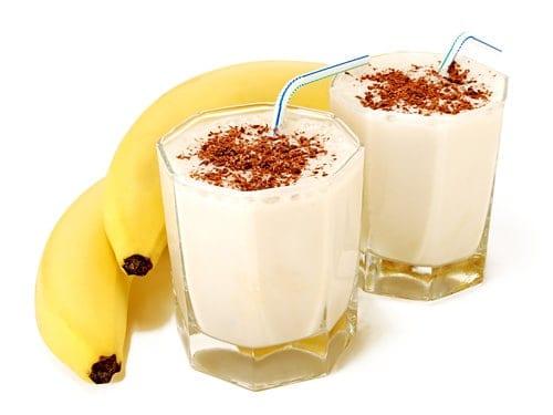 benefícios do batido de banana