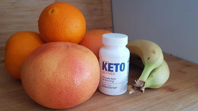 Ingredientes do Keto Actives